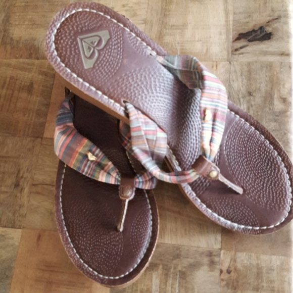 Roxy wedge sandals